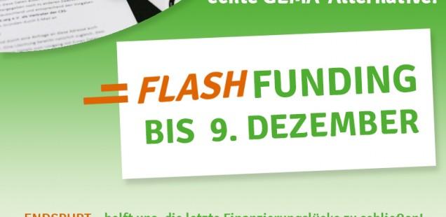Endspurt – Das C3S FlashFunding ist gestartet!